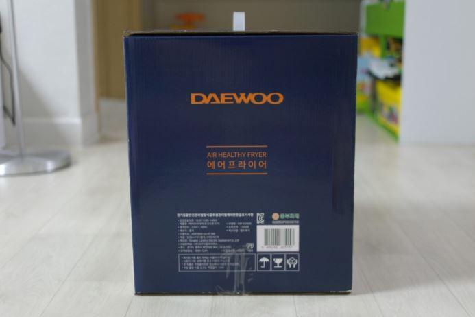 Nồi chiên không dầu Daewoo