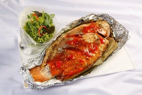 Cá chép nướng