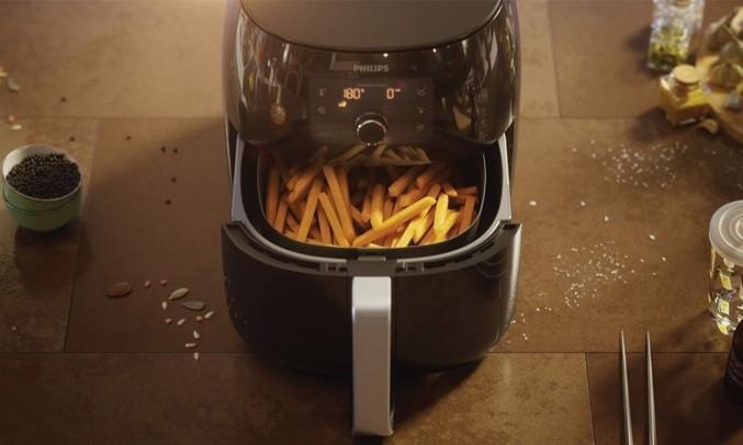 Nồi chiên không dầu Philips HD9650 đơn giản hóa việc nấu nướng của bạn