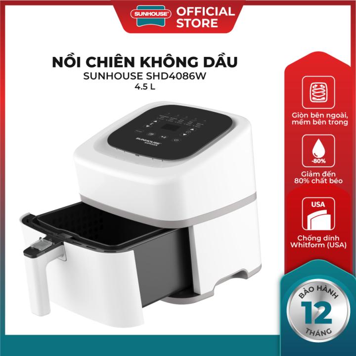 https://www.noichienkhongdau.com/wp-content/uploads/2021/07/Noi-chien-khong-dau-SUNHOUSE-MAMA-SHD4086W.png Thiết kế gọn nhẹ