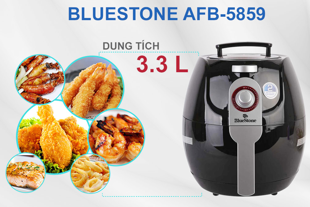 Nồi chiên không dầu Bluestone AFB-5859
