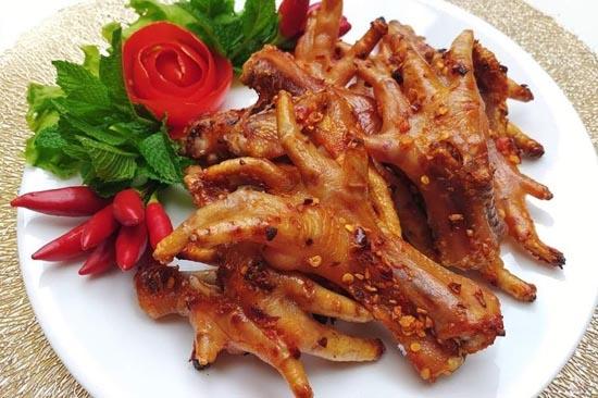Chân gà nướng bằng nồi chiên không dầu 2