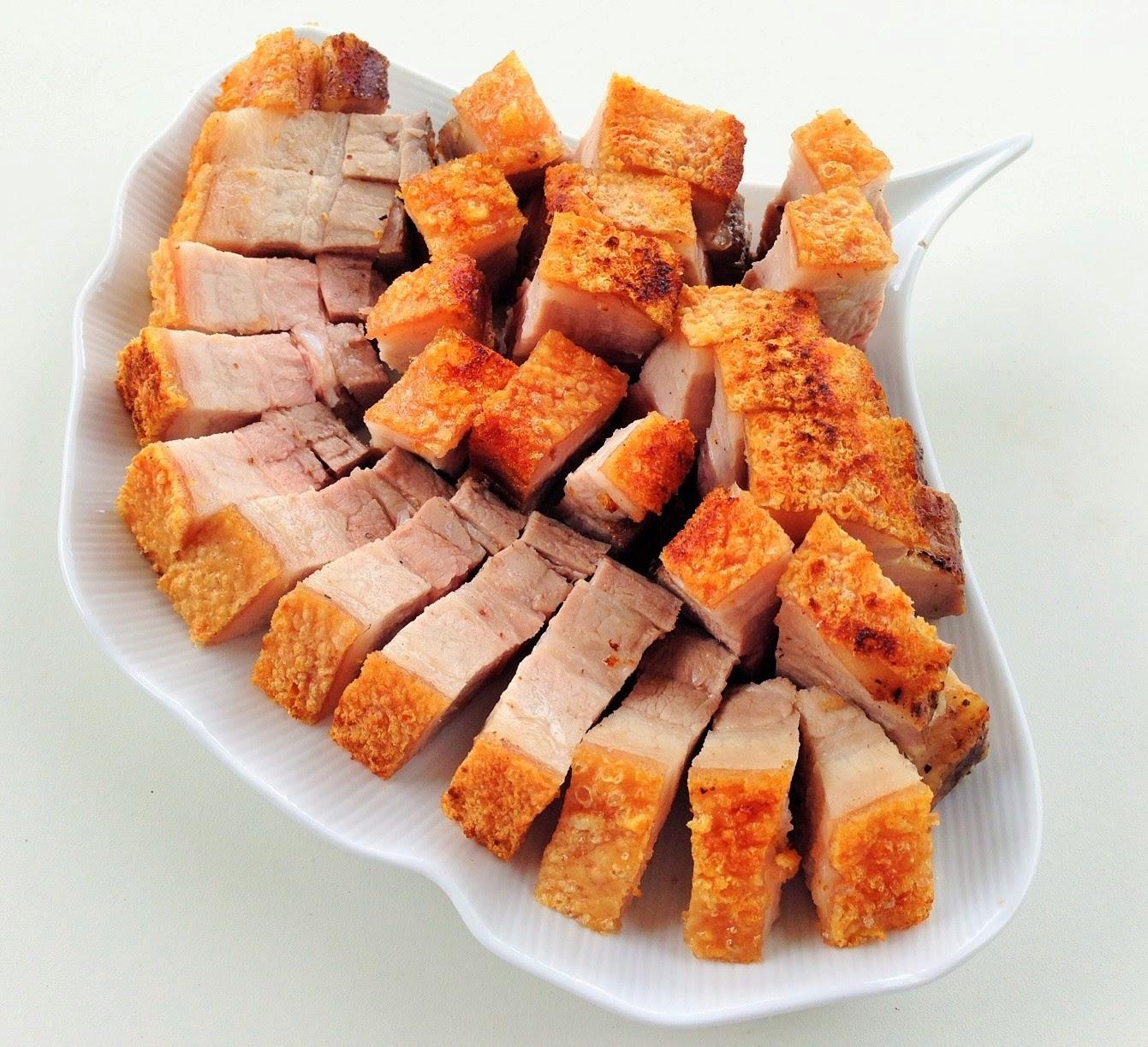 Thịt ba chỉ quay bằng nồi chiên không dầu 4