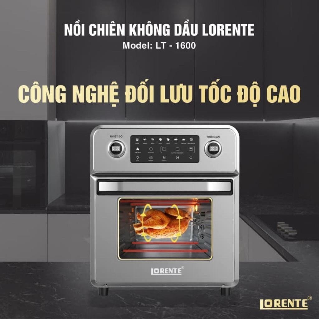 Review nồi chiên không dầu Lorente LT-1600
