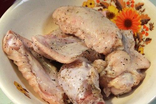 Cánh gà chiên nước mắm bằng nồi chiên không dầu 2