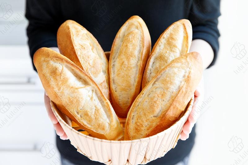 làm bánh mì bằng nồi chiên không dầu 1