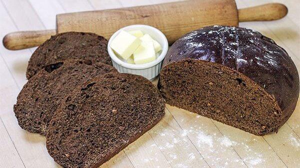 Làm bánh mì đen bằng nồi chiên không dầu 3