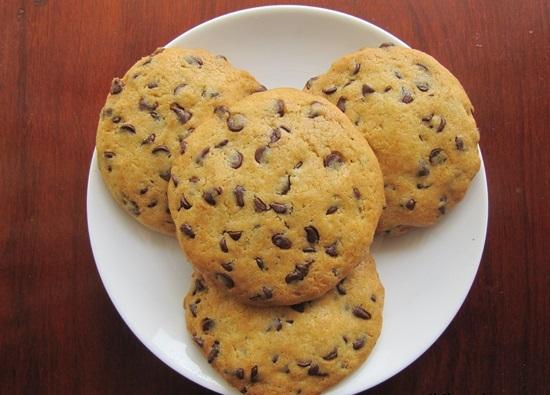 làm bánh quy bằng nồi chiên không dầu 9