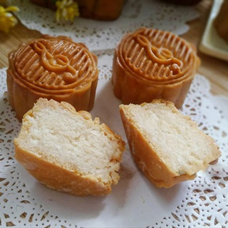 làm bánh Trung Thu bằng nồi chiên không dầu 6