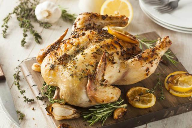 món gà với nồi chiên không dầu 3